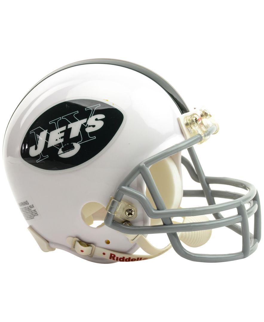 Own a piece of the New York Jets with this replica Riddell Nfl mini helmet. 6ebac380f