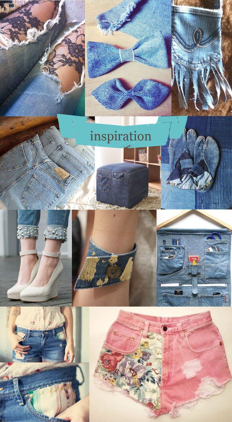 moline mercerie diy jean customisation couture divers denim crafts diy clothes et couture. Black Bedroom Furniture Sets. Home Design Ideas