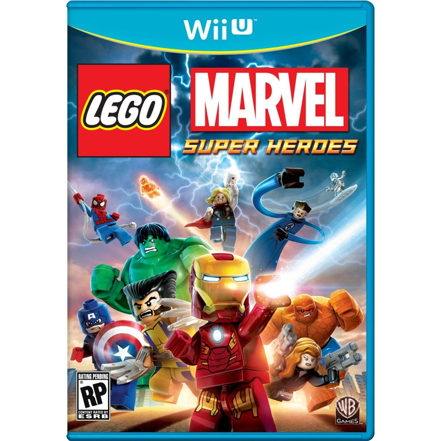 Lego Marvel Super Heroes (Nintendo Wii U, 3DS, PS3 or PC