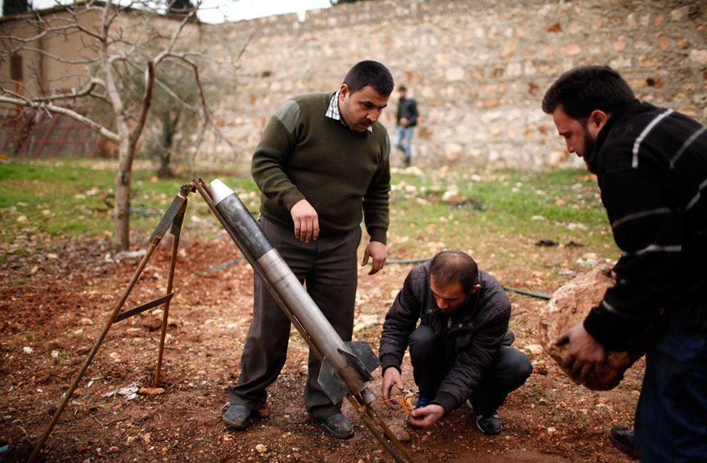 SYRIA-CRISIS/ Syria Improvised Weapon