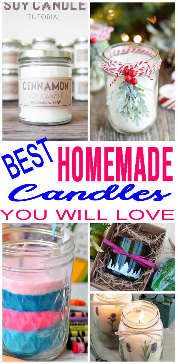 AMAZING DIY Candles! BEST Candle Making Ideas EASY