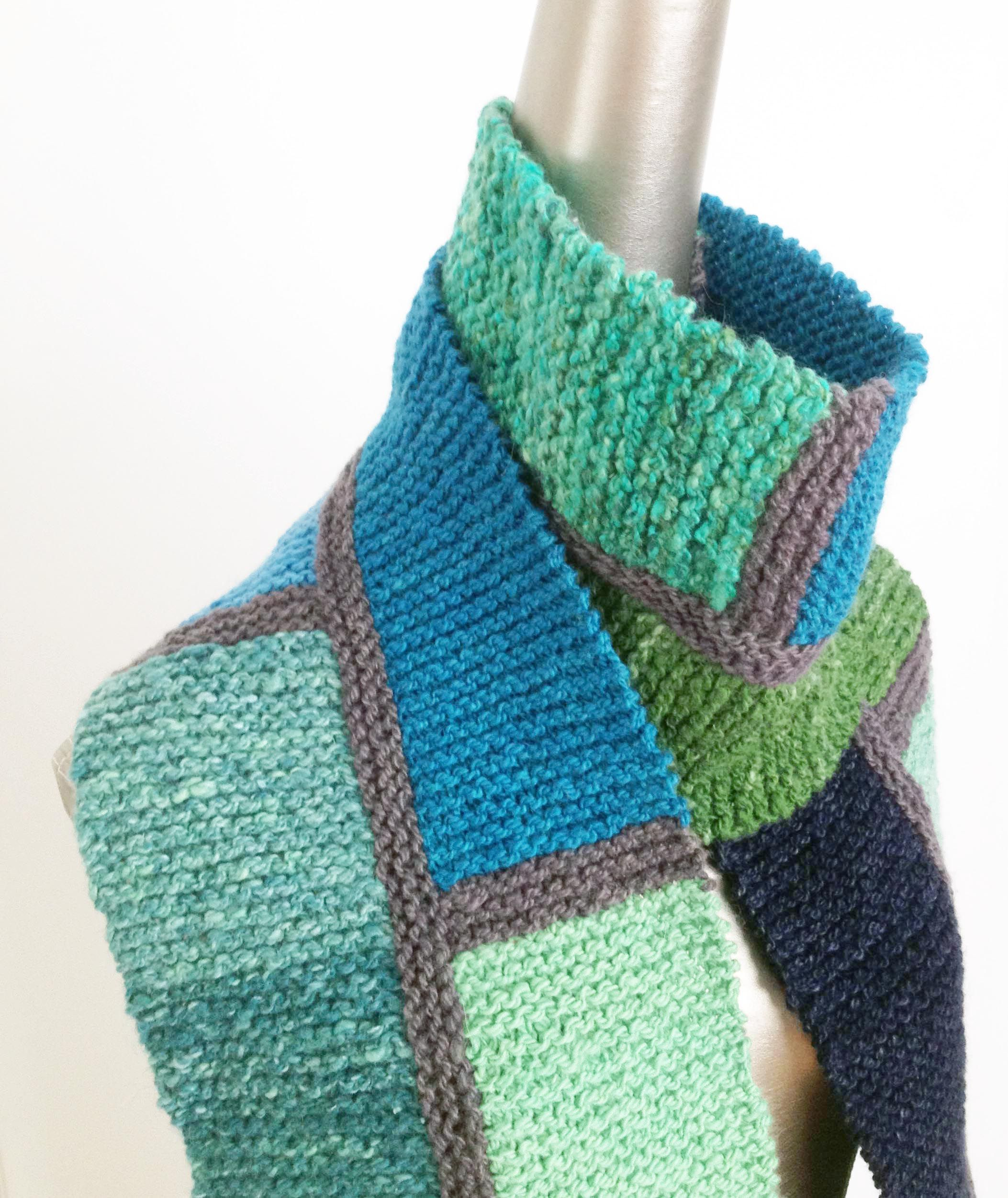 Colorblock scarf from infinite twist its a knitting thing mondrian color block scarf from infinite twist bankloansurffo Image collections