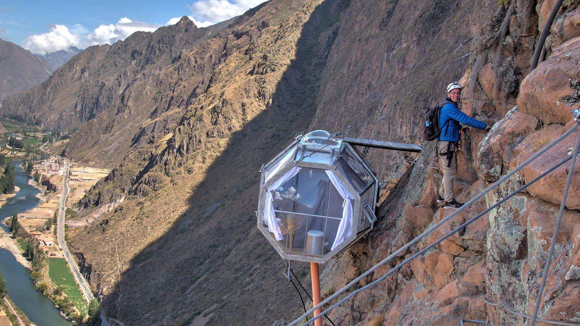 Skylodge - Coolest Hotel In World Peru