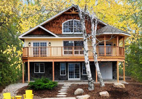 Starter Cabin Lake House Plans Basement House Plans Cottage Plan