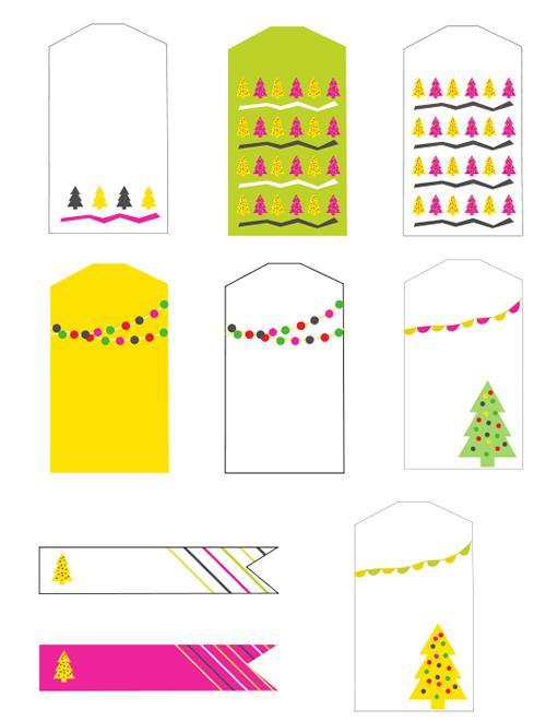 Etiquetas regalos de Navidad para imprimir | Los regalos de navidad ...