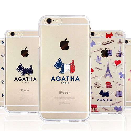 buy online b11f7 f0b17 Genuine Agatha Crystal Clear Hard Case iPhone 6/6S Case iPhone 6/6S ...