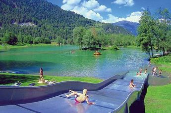 Photo of Camping Dreiländereck is a campsite in Ried im Oberinntal, Tyrol. This camp …