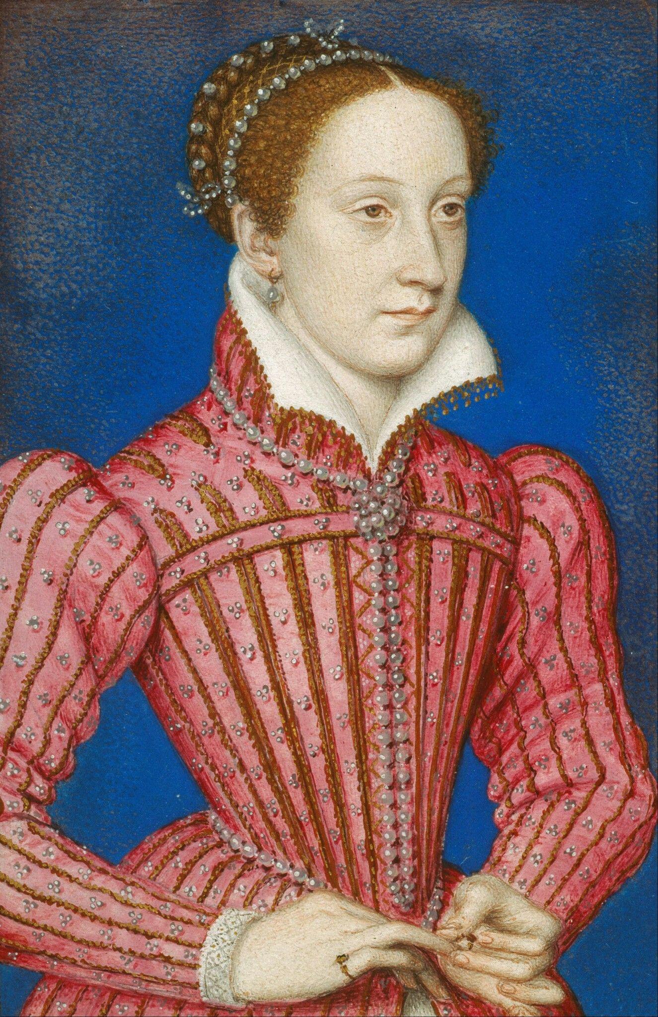 Maria Stuart 1558. Royal Collection Trust. Sposa Francesco II di Francia, figlio di Enrico II