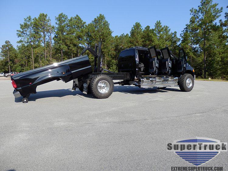 Six Door F650 With Kelderman Removable Bed F650 Pickups