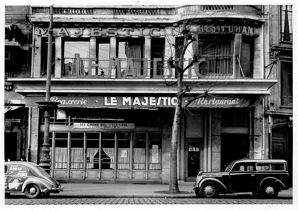Le Majestic SaintÉtienne 1952 avant l'ouverture de la