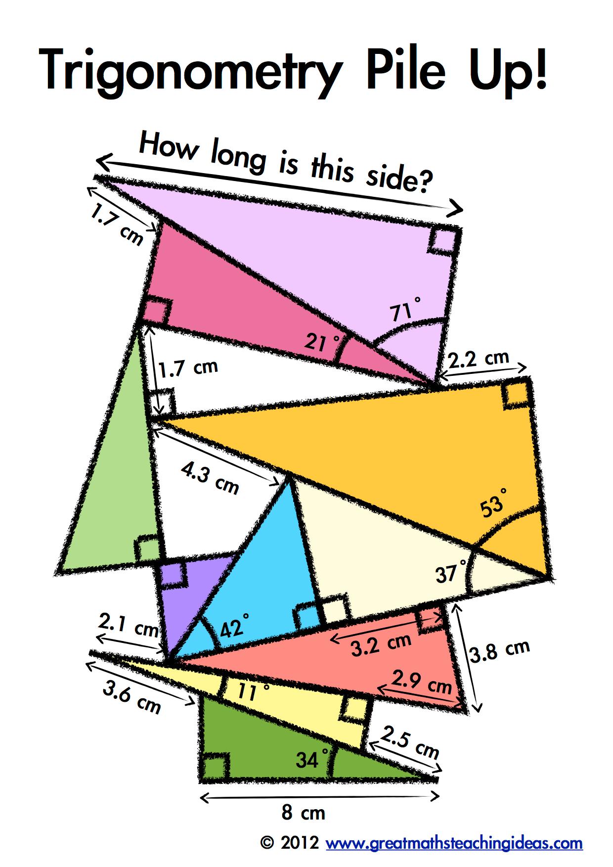 Trigonometry Pile Up