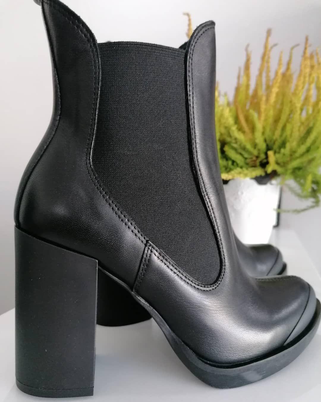 Jesien Na Obcasach Jesien Jesien2020 Zima Buty Botki Czarne Czarnebuty Nowosc Kobieta Modadlakobiet Moda Modnadzi Boots Chelsea Boots Ankle Boot