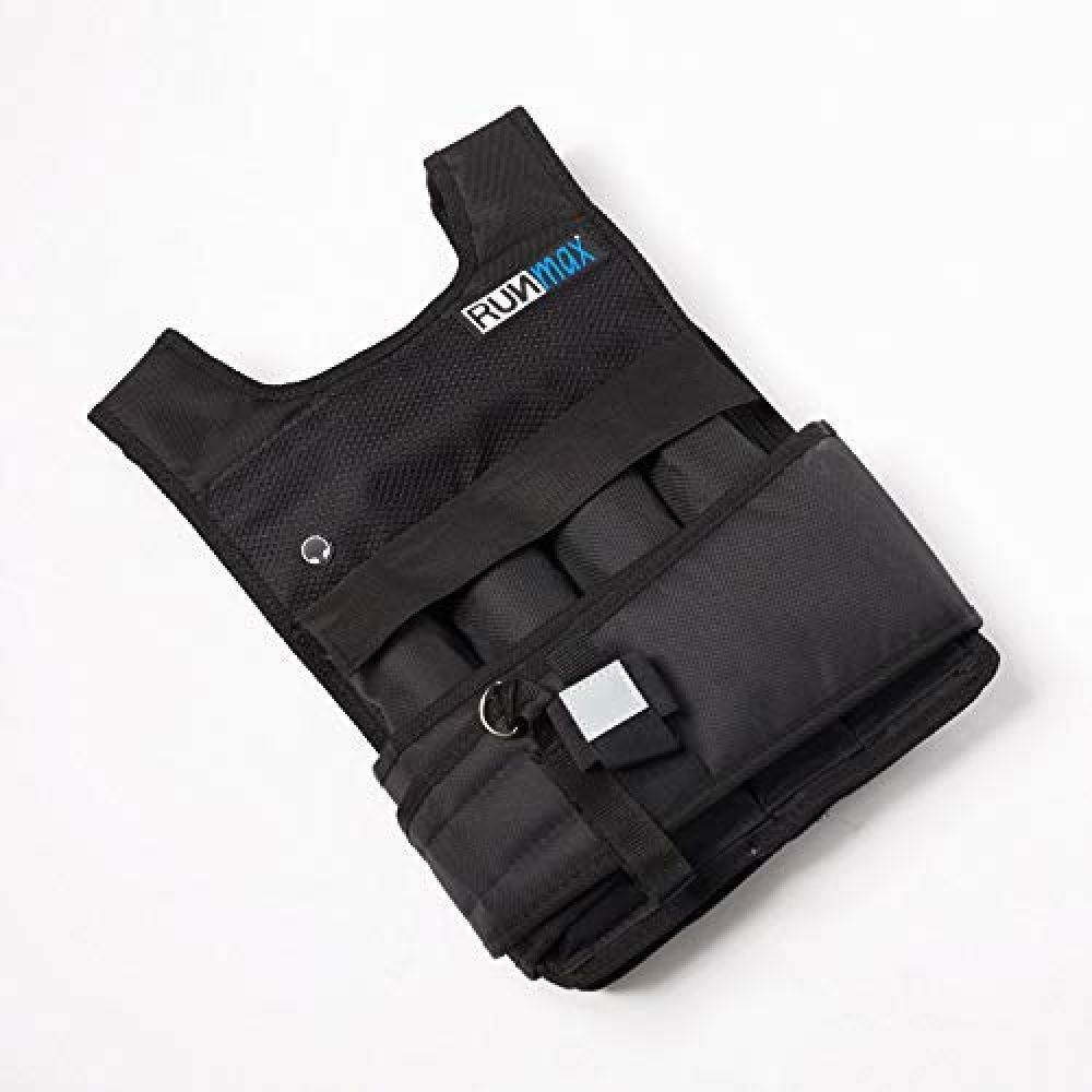 RUNmax RUNFast RM_20 Pro Weighted Vest, 20 lb Weighted