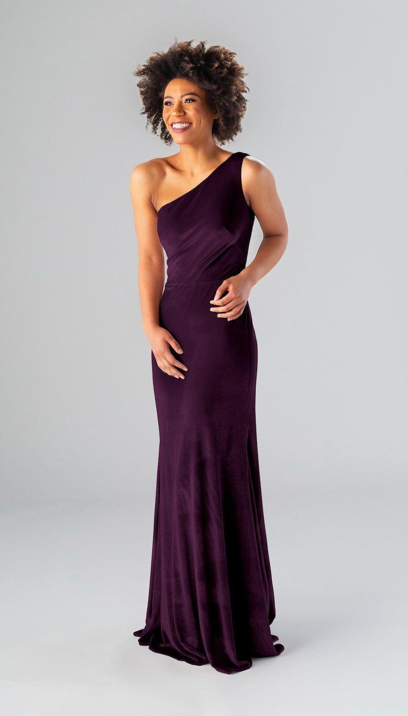 Kennedy Blue Keely Velvet Bridesmaid Dresses Purple Bridesmaid Dresses Dresses [ 1500 x 857 Pixel ]