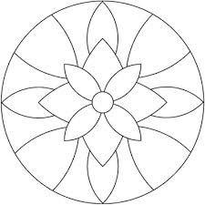 Resultado de imagen para dibujos de mandalas para for Dibujos para mosaiquismo