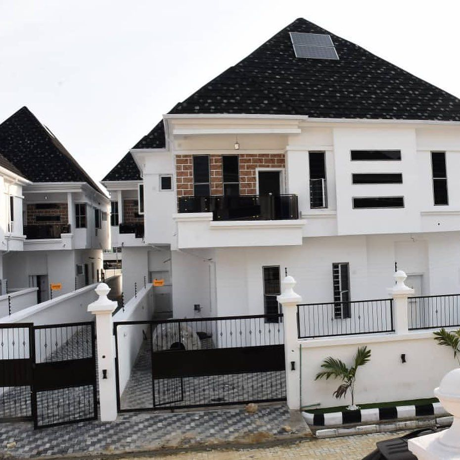 4 Units 4 Bedroom Fully Detached Duplex For Sale Location