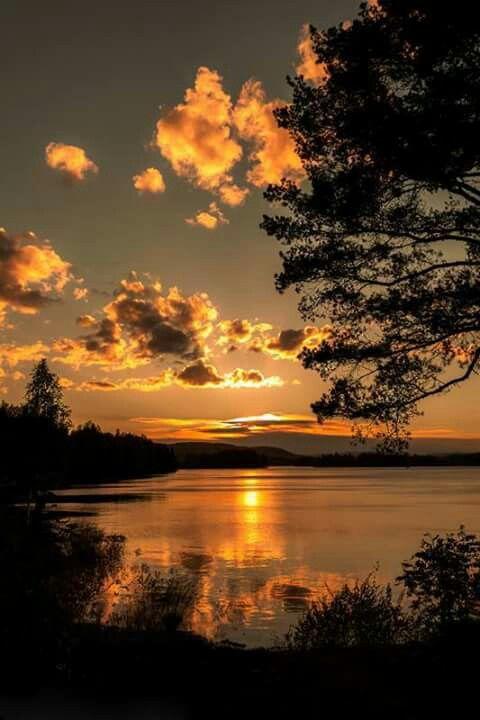 Laerred Maleri Billede Fra Aazeen Amyn Pa Stunning Sunsets Solnedgang Malerier