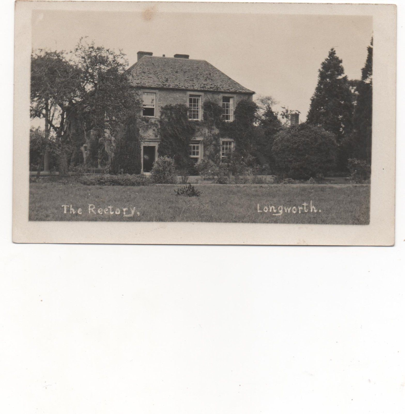 The Rectory, Longworth,Oxfordshire,RPPC | eBay