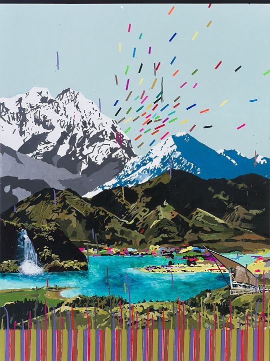 """Melissa Loop """"The Shifting Mountains of New Zealand"""""""