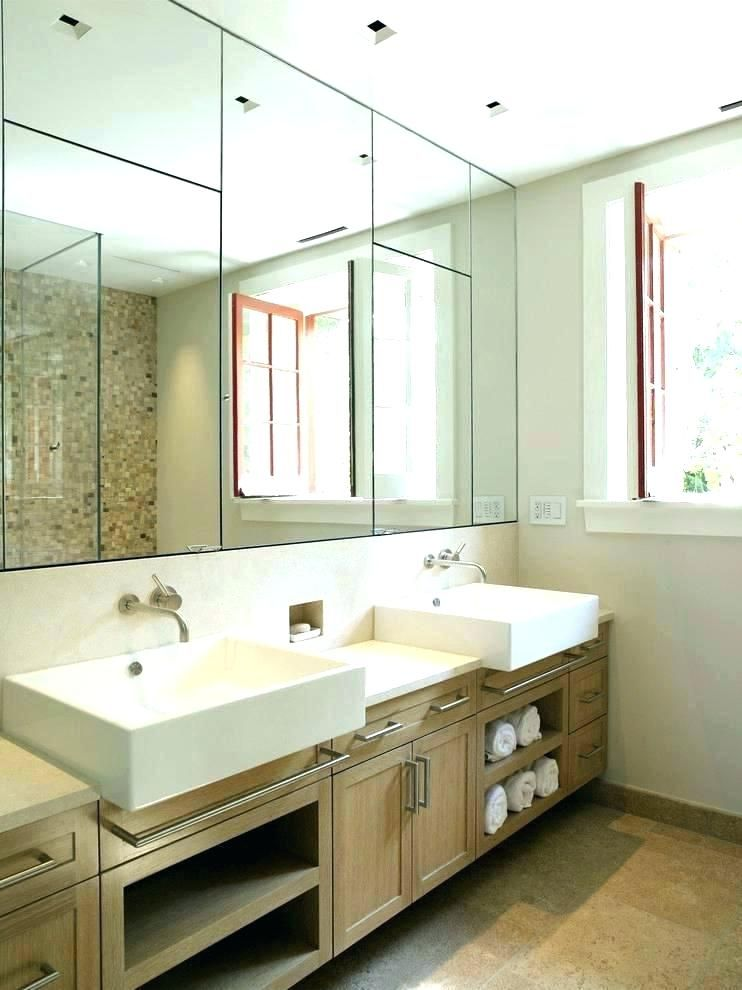Gorgeous Large Mirrored Medicine Cabinet Contemporary Cabinets Related Post Bathroom E Modern Bathroom Mirrors Large Bathroom Mirrors Bathroom Furniture Design