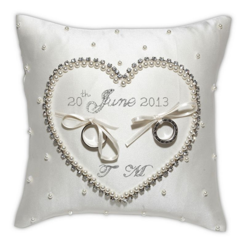Cinderella Wedding Ring Cushion | Olivier Laudus  Trust me to like the most expensive!