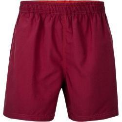 Walbusch Herren Schwimm-Shorts Dry-weave Rot einfarbig Walbusch #tieheadscarves