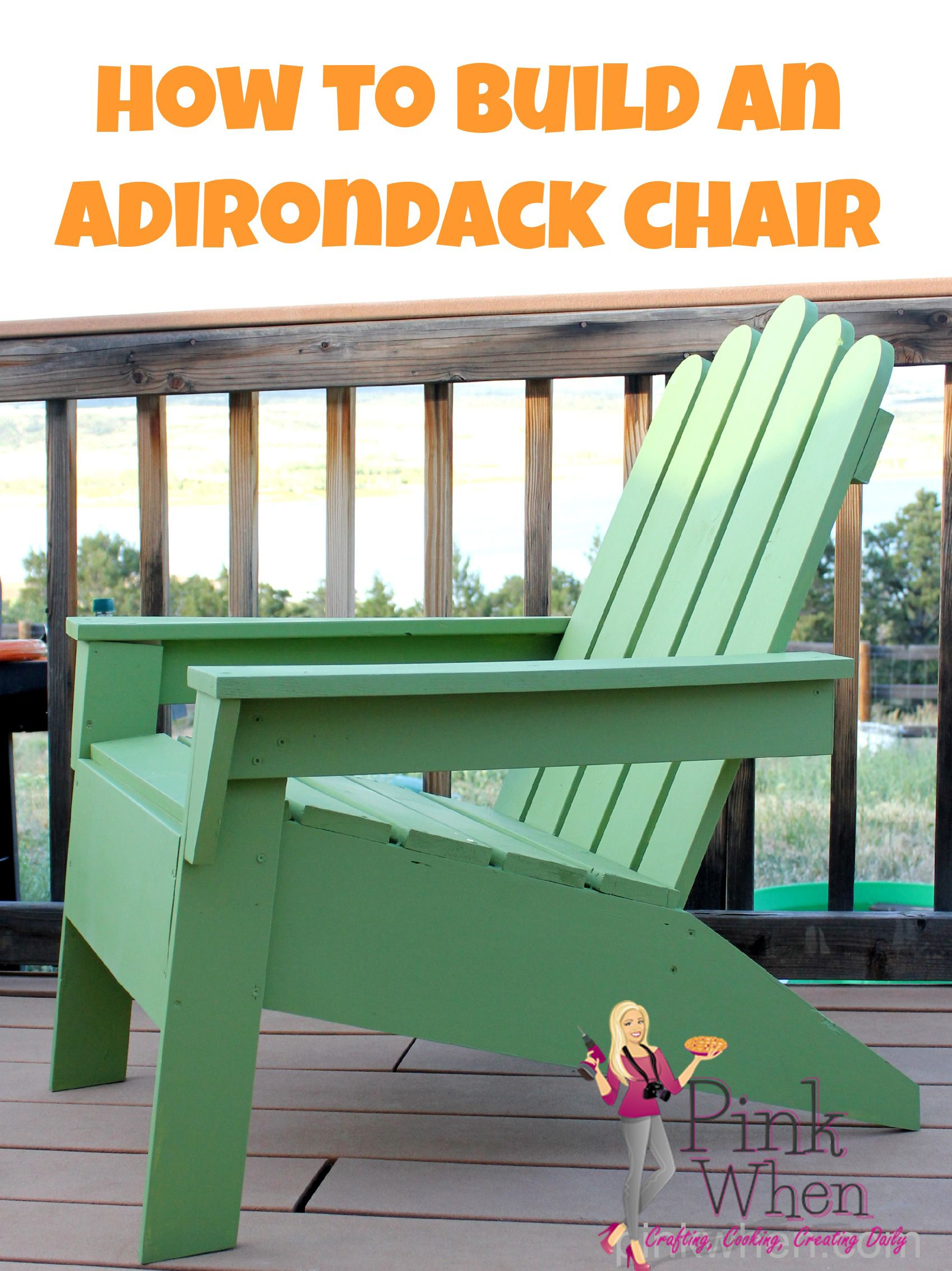 making your own adirondack chairs | How to Make Adirondack Chairs | Diy furniture, Diy home ...