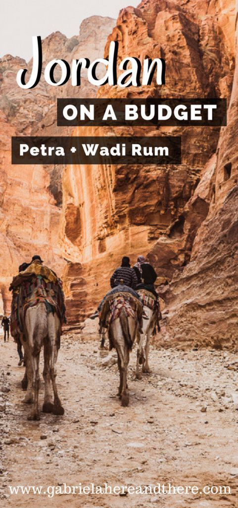 Backpacking in Jordan - Petra & Wadi Rum on a Budget #wadirum