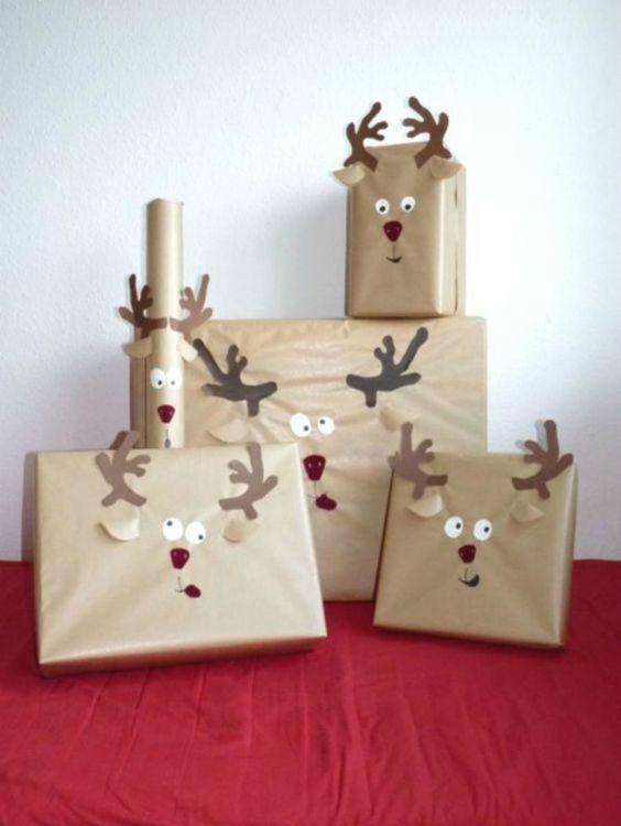 kreative geschenkverpackungen f r kinder 13 diy ideen f r weihnachten geschenke einpacken. Black Bedroom Furniture Sets. Home Design Ideas