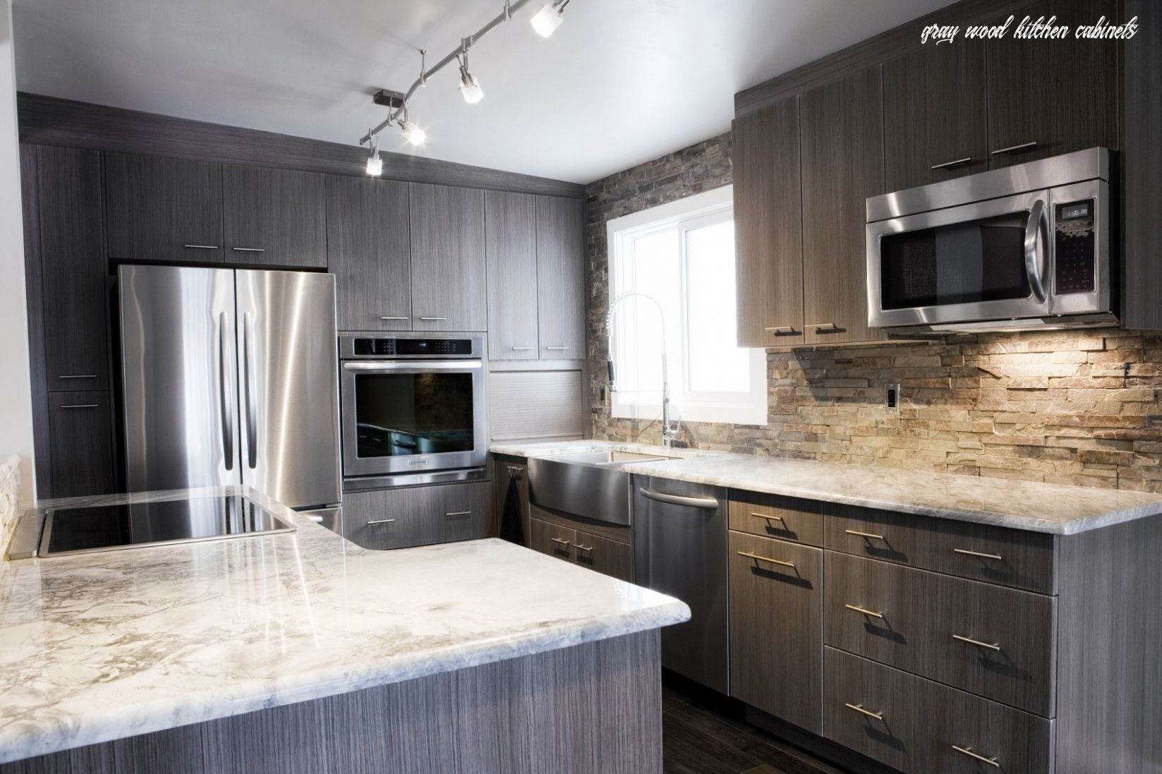 The Real Reason Behind Gray Wood Kitchen Cabinets In 2020 Grey Kitchen Walls Dark Grey Kitchen Cabinets Grey Kitchen Designs