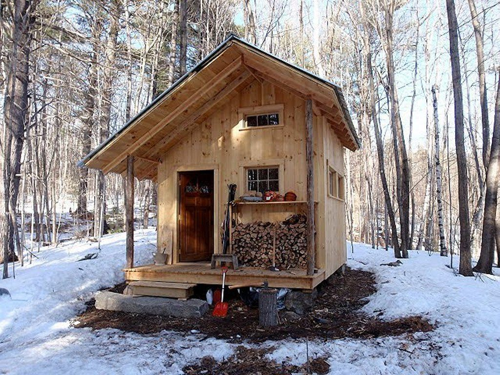 Unique small cabin plans the smallest cabin plans for Unique log cabin designs