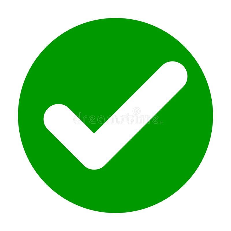 Flat Round Check Mark Green Icon Button Tick Symbol Isolated On White Backgrou Sponsored Green Icon Button Flat C Mark Green Symbol Design Ticks