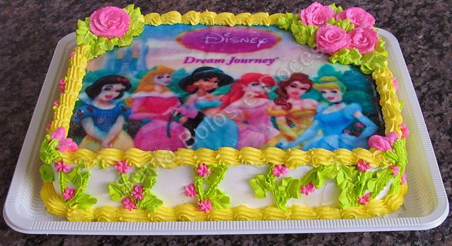 Pasteles Aniversarios Pictures To Pin On Pinterest: Bolo Princesas Disney