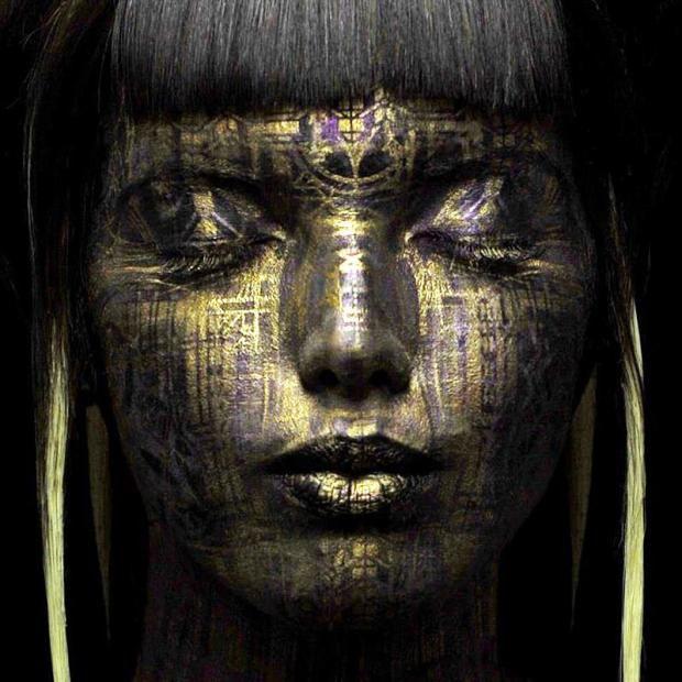 Удивително изкуство върху човешко тяло