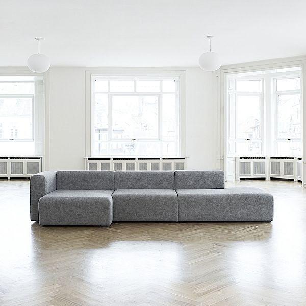 Sofa MAGS en tissu, les modules. HAY