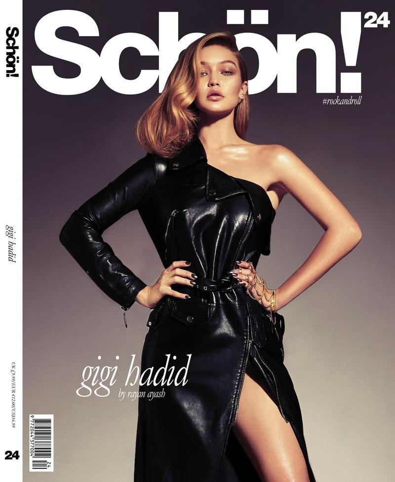 Gigi Hadid Schon Magazine Spring 2014 Cover: Young Blood (Schön Magazine) #schonmagazine