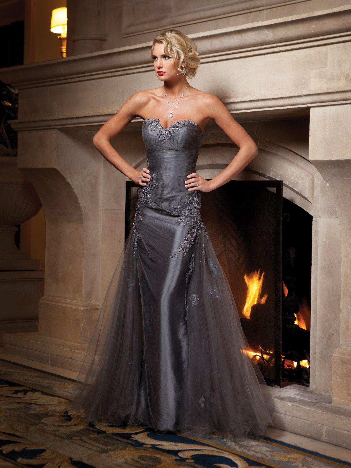 Trumpetmermaid sweetheart glamorous with taffeta bridesmaid gown