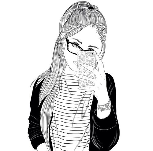 Outlines Tumblr Anazhthsh Google Drawing Art Dessin De