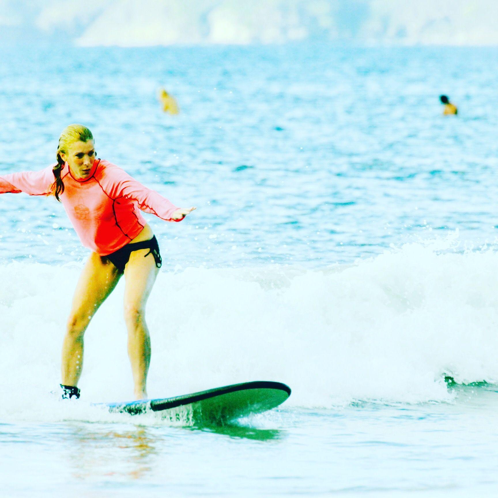 Surfing Playa Tamarindo in Costa Rica