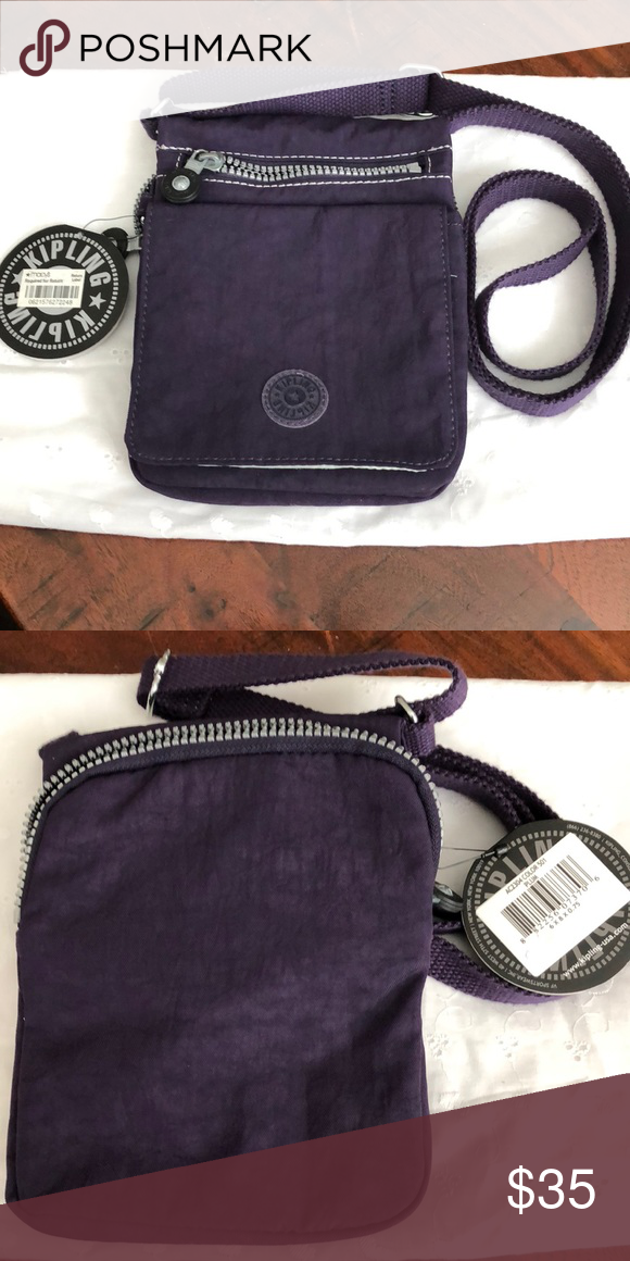 Small New Crossbody Kipling Zipper Multi Bags Bag Brand RXrHRqx