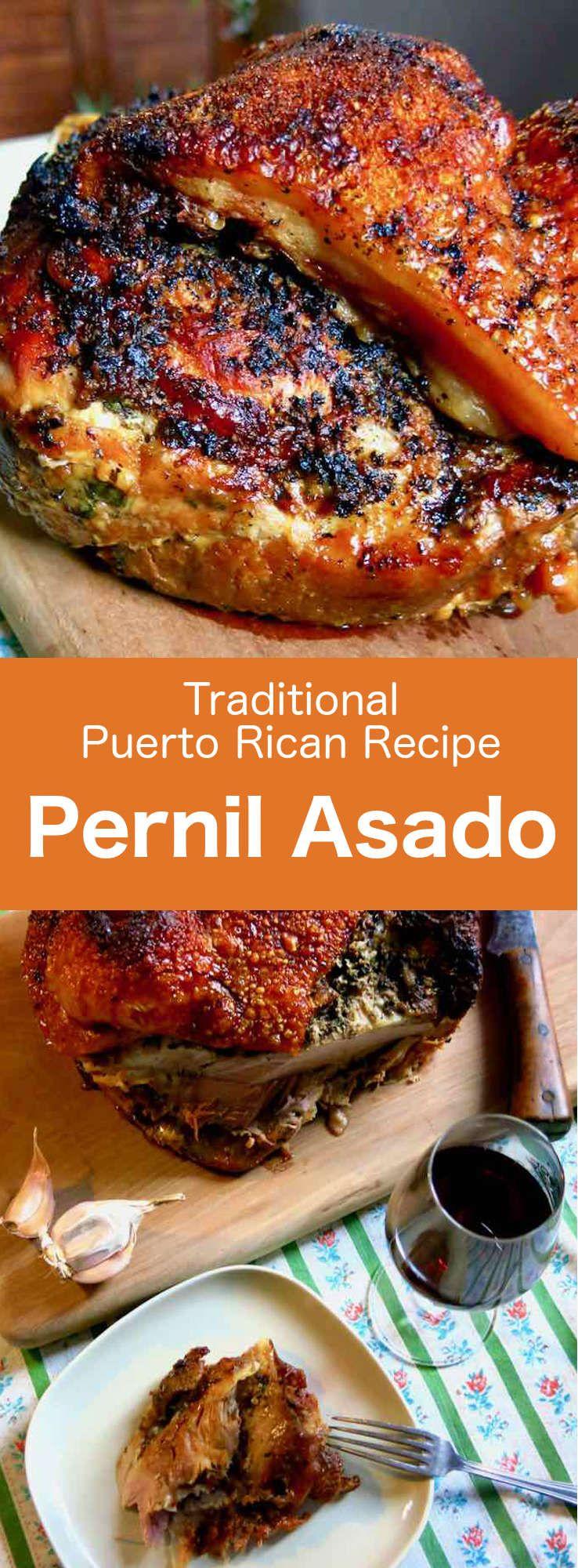 Pernil Asado  Traditional Puerto Rican Recipe  196 flavors