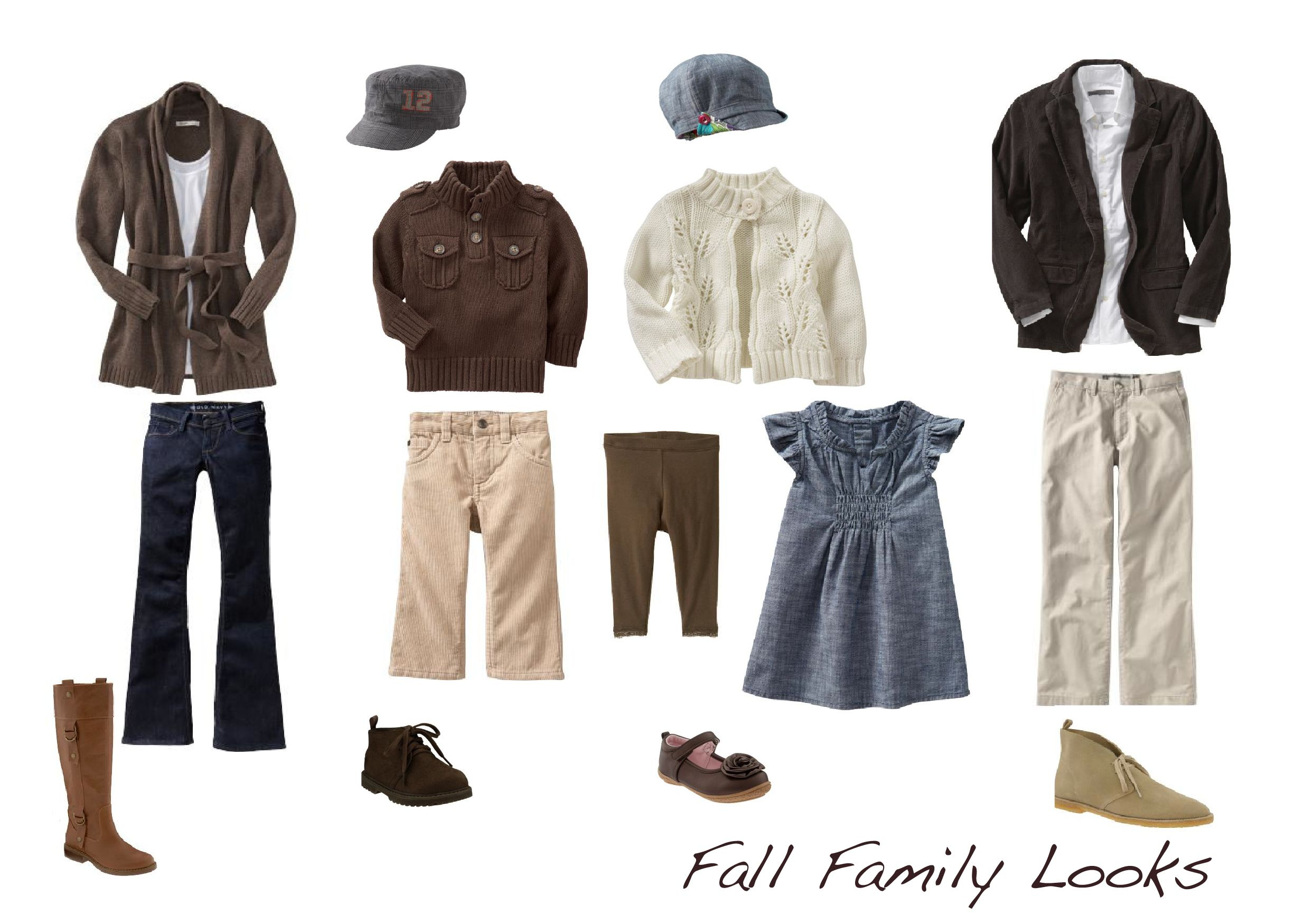 Fall Family Looks | Photo sessions, Family pictures and ...