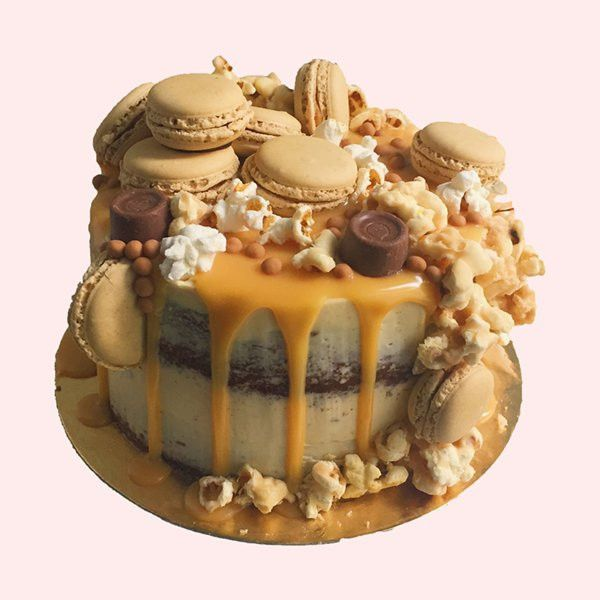 Sensational Salted Caramel Birthday Cake By Anges De Sucre Angesdesucre Cake Funny Birthday Cards Online Necthendildamsfinfo
