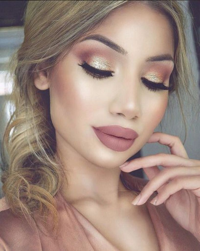 Photo of 47 Amazing Makeup Ideas That Look Like a Princess with Rose Gold Ma …