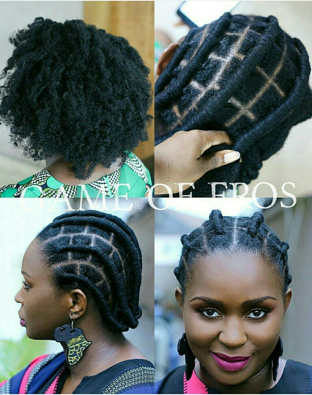 Simple Wool Hairstyles For Natural Hair Simple Hair Style