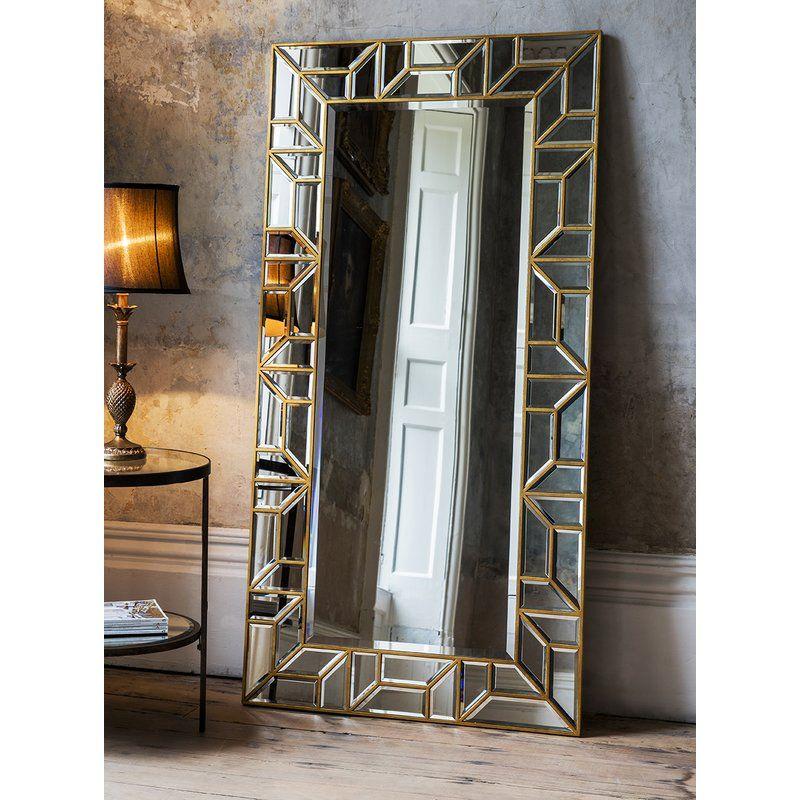 Justice Leaner Mirror Floor standing mirror, Leaner