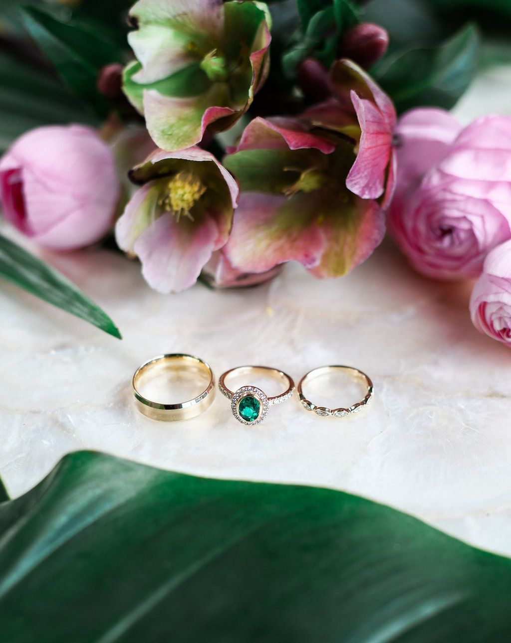 Stylish Tropical Wedding Inspiration in the Pacific ...