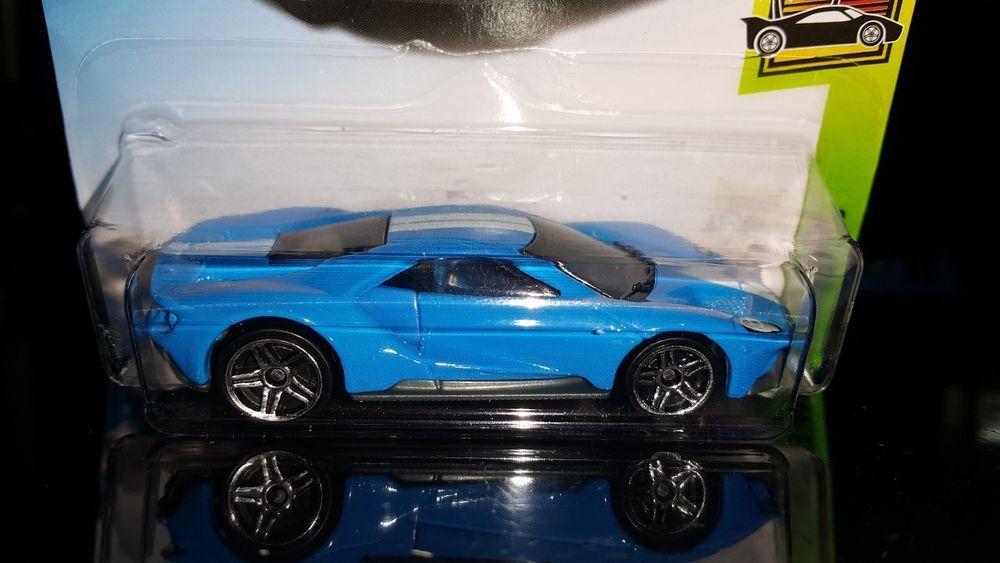Hot Wheels 2018 Exotics 8 10 17 Ford Gt Blue Hotwheels Ford