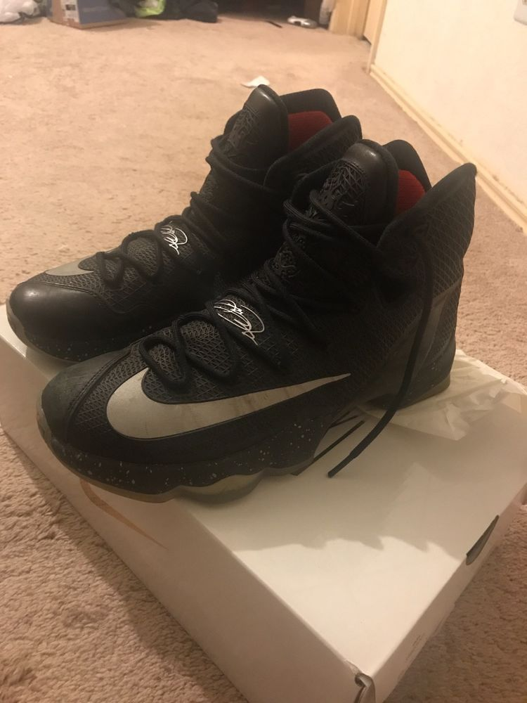c7295b78fd1 Nike LeBron James 13 Elite Black Size 9 1 2 mens  fashion  clothing  shoes   accessories  mensshoes  athleticshoes (ebay link)