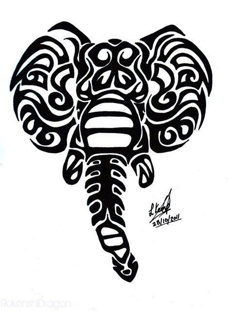 elephant tribal tattoo 2256 jpg your pinterest likes pinterest rh pinterest com elephant tribal tattoo elephant tribal tattoo meaning